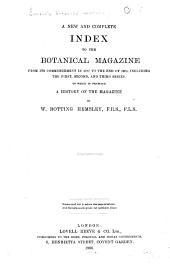 Curtis's Botanical Magazine: Volumes 1-130