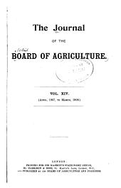 The Journal of the Ministry of Agriculture: Volume 14