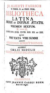 Jo. Alber+i Fabricii ... Bibliotheca Latina mediæ et infimæ ætatis