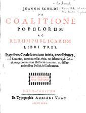 De coalitione populorum ac rerum publicarum: libri tres