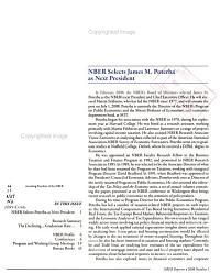 NBER Reporter PDF
