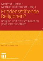 Friedensstiftende Religionen  PDF
