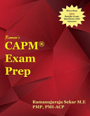 Raman's Capm Exam Prep Guide for Pmbok