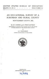 An Educational Survey of a Suburban and Rural County: Montgomery County, Md