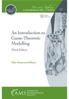 An Introduction to Game Theoretic Modelling  Third Edition PDF