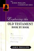 Exploring the Old Testament Book by Book PDF