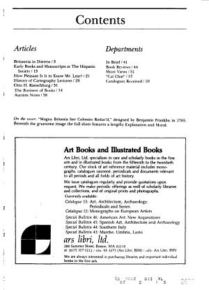American Book Collector PDF