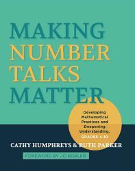 Making Number Talks Matter Book PDF