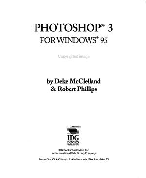 Photoshop 3 for Windows 95 Bible PDF