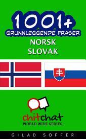 1001+ grunnleggende fraser norsk - slovak