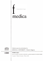 Folia Medica PDF