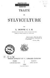 Traité de sylviculture