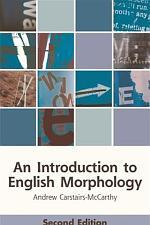 Introduction to English Morphology