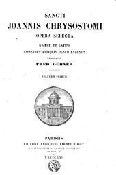Opera selecta: Volume 1
