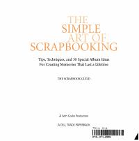 The Simple Art of Scrapbooking PDF