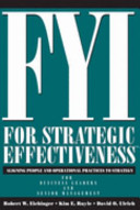 FYI for Strategic Effectiveness