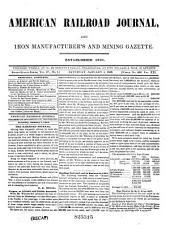 American Railroad Journal: Volume 21