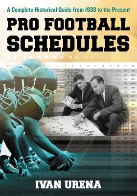 Pro Football Schedules PDF