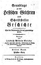 Grundlage zu einer hessischen gelehrten und schriftsteller geschichte seit der reformation bis auf gegenwärtige zeiten: Bände 11-12