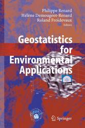 Geostatistics for Environmental Applications PDF