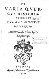 De varia quercus historia