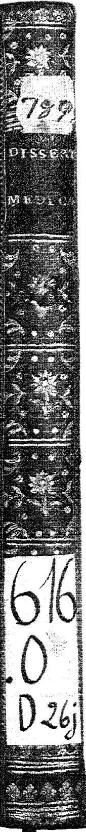 Josephi Emanuel de Davalos ... Specimen Academicum de morbis nonnullis Limae grassantibus ipsorumque therapeia ...