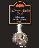 Halloween Party Food Kids Recipes Blank Cookbook