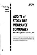 Audits of Stock Life Insurance Companies, with Conforming Changes as of May 1, 1994