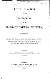 The Laws for the Government of the Massachusetts Militia ...