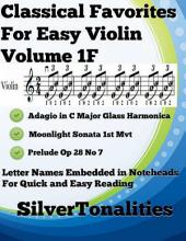 Classical Favorites for Easy Violin Volume 1 F