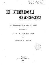 Der internationale schachkongress zu Amsterdam in August 1889