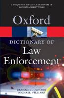 A Dictionary of Law Enforcement PDF