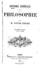 Histoire générale de la philosophie