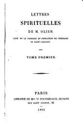 Lettres spirituelles: Volume1