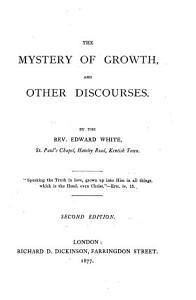 The Mystery of Growth  and Other Discourses PDF