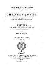 Memoirs and Letters of Charles Boner
