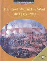The Civil War in the West  1861 July 1863  PDF