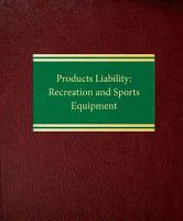 Products Liability PDF