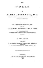 The Works of Samuel Stennett: Volume 3