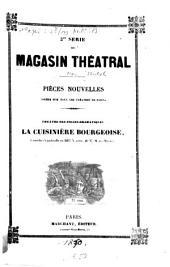 La cuisinière bourgeoise: comédie-vaudeville en deux actes