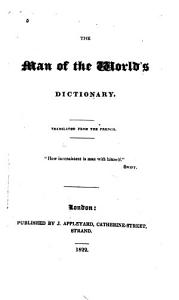 The Man of the World s Dictionary Book