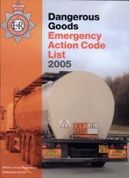 Dangerous Goods Emergency Action Code List 2005 Book PDF