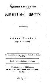 Sämmtliche Werke: Band 8,Ausgabe 1