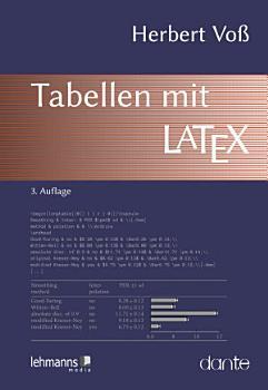 Tabellen mit LaTeX PDF