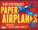 High Performance Paper Airplanes Kit PDF