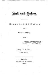 Soll und Haben: Roman in sechs Büchern, Band 1