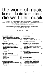 The World of Music Book