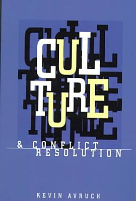 Culture   Conflict Resolution