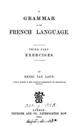 A grammar of the French language: Exercises