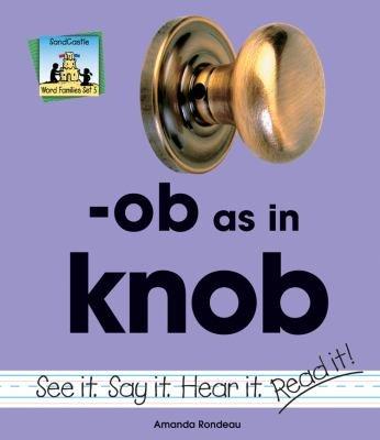 ob as in knob PDF
